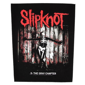 patch large Slipknot - The Gray Chapter - RAZAMATAZ, RAZAMATAZ, Slipknot