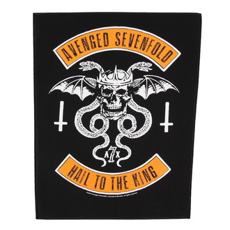 patch large Avenged Sevenfold - Biker - RAZAMATAZ, RAZAMATAZ, Avenged Sevenfold