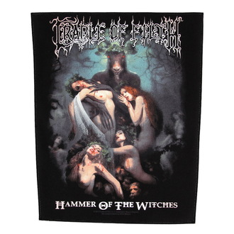 patch large Cradle of Filth - Hammer Of The Witches - RAZAMATAZ, RAZAMATAZ, Cradle of Filth