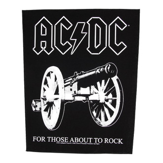 patch large AC / DC - For Those About To Rock - RAZAMATAZ, RAZAMATAZ, AC-DC