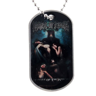 dog tags Cradle of Filth - Hammer Of The Witches - RAZAMATAZ, RAZAMATAZ, Cradle of Filth