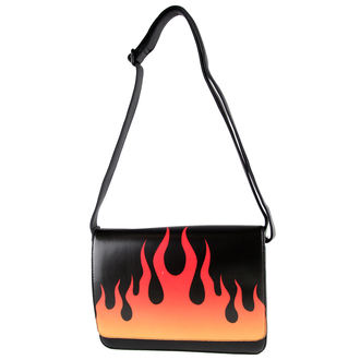 handbag IRON FIST - Fire Sign - Black - IF003823