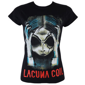 t-shirt metal women's Lacuna Coil - Head - PLASTIC HEAD - PH8886