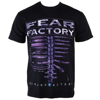 t-shirt metal men's Fear Factory - Demanfacture - PLASTIC HEAD - PH9211