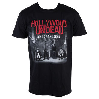 t-shirt metal men's Hollywood Undead - Day Of The Dead - PLASTIC HEAD - PH9216