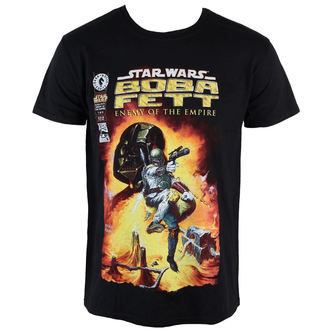 film t-shirt men's Star Wars - Boba Fett - PLASTIC HEAD - PH8840