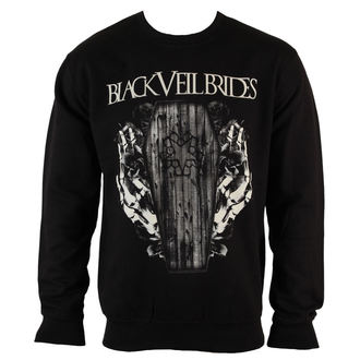 sweatshirt (no hood) men's Black Veil Brides - Deaths Grip - PLASTIC HEAD - PH9035CSW