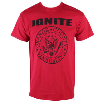 t-shirt pansy Ignite - President - Red - KINGS ROAD - 70834