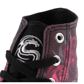 high sneakers women's - Blood Rose - SPIRAL - K018S002