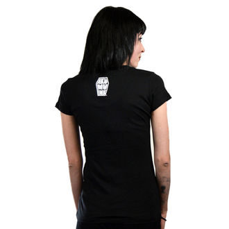 t-shirt hardcore women's - Fatal Prophecy Scoop - Akumu Ink - 8TW04