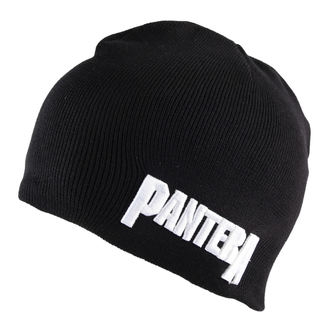 beanie Pantera - Logo Cotton - Black, ROCK OFF, Pantera