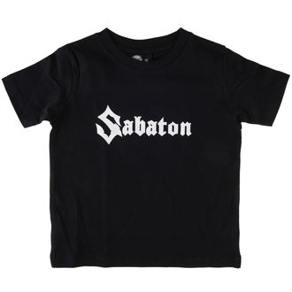 t-shirt metal children's Sabaton - Logo - Metal-Kids - 455-25-8-7