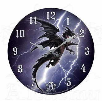 clock ALCHEMY GOTHIC - Lightning Dragon, ALCHEMY GOTHIC
