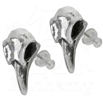 earrings ALCHEMY GOTHIC - Rabeschadel Studs - E359