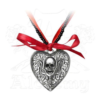 necklace ALCHEMY GOTHIC - The Reliquary Heart Locket, ALCHEMY GOTHIC