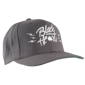 cap BLACK HEART - Mark - Grey, BLACK HEART