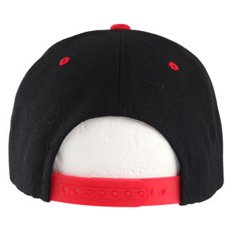 cap BLACK HEART - Snap Back - Black / Red - BH019