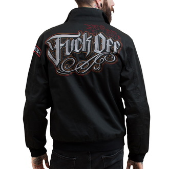 spring/fall jacket men's - Fuck Off - HYRAW - HY101