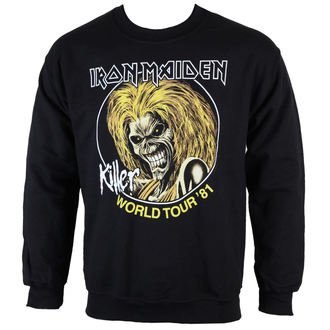 sweatshirt (no hood) men's Iron Maiden - Killers 81 - ROCK OFF - IMSWT04MB