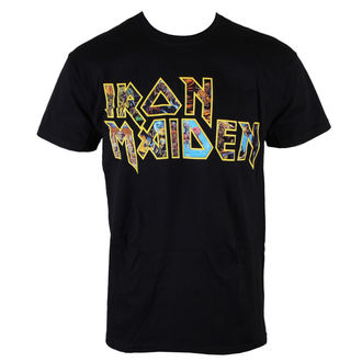 t-shirt men Iron Maiden - Eddie Logo - ROCK OFF - IMTEE45MB
