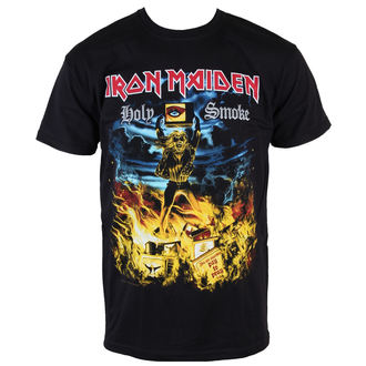 t-shirt metal men's Iron Maiden - Holy Smoke - ROCK OFF - IMTEE46MB