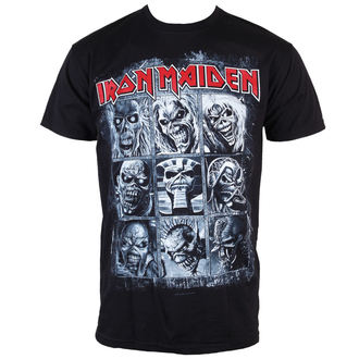 t-shirt men Iron Maiden - Nine Eddies - ROCK OFF - IMTEE47MB