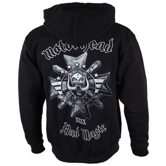 hoodie men Motörhead - Bad Magic - ROCK OFF - MHEADHOOD05MB
