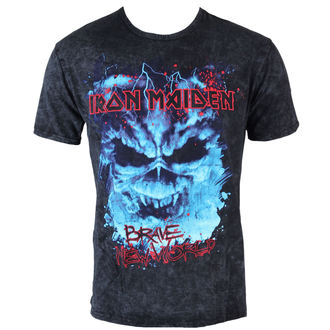 t-shirt metal men's Iron Maiden - Brave New World Puff - ROCK OFF, ROCK OFF, Iron Maiden