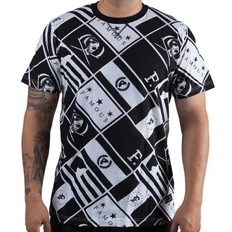 t-shirt street men's - The Pledge - FAMOUS STARS & STRAPS - BLK/WHT
