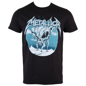 t-shirt metal men's Metallica - Ice Black - BRAVADO - 13591451