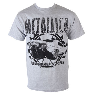 t-shirt metal men's Metallica - Burning Hard - BRAVADO - 13591285