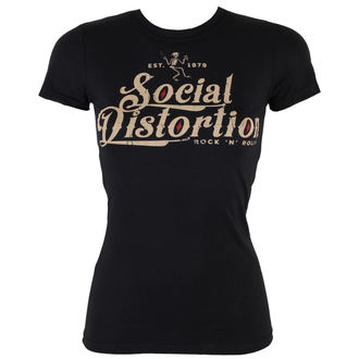 t-shirt metal women's Social Distortion - Rock And Roll - BRAVADO, BRAVADO, Social Distortion