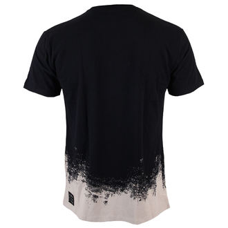 t-shirt men Rolling Stones - Splatter Tongue - BLK - Amplified - AV350STA