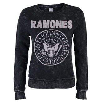 sweatshirt (no hood) women's Ramones - Macrame Sweat - AMPLIFIED - AV747RAM