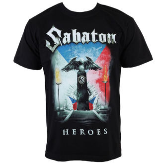t-shirt men Sabaton - Heroes Czech Republic - K_675