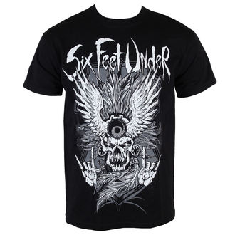 t-shirt metal men's Six Feet Under - Biker - ART WORX, ART WORX, Six Feet Under