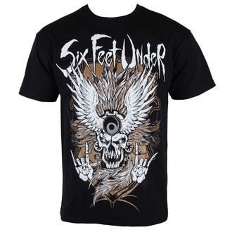 t-shirt metal men's Six Feet Under - Biker Gold - ART WORX, ART WORX, Six Feet Under
