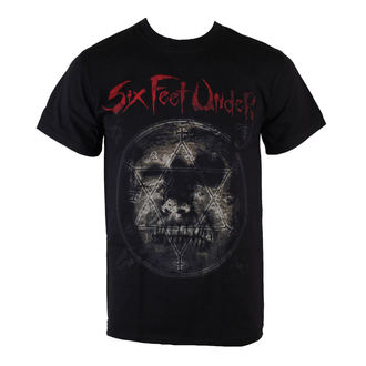 t-shirt men Six Feet Under - Rotten Head - ART WORX - 187560