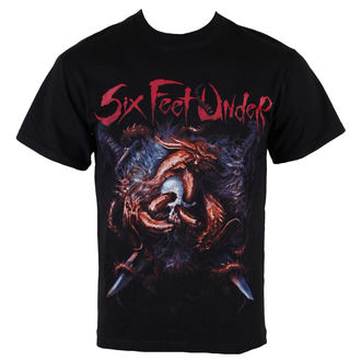 t-shirt metal men's Six Feet Under - Viking - ART WORX, ART WORX, Six Feet Under