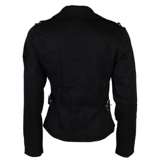 spring/fall jacket women's - Biker - BLACK PISTOL