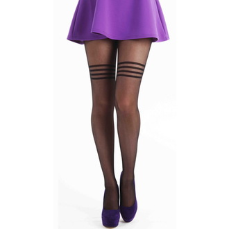 tights PAMELA MANN - Hoop - Black - PM239