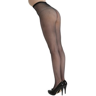 tights PAMELA MANN - Fishnet - Black - PM265
