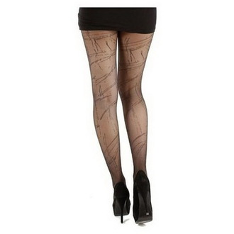 tights PAMELA MANN - Sheer Splash - Black / Black, PAMELA MANN