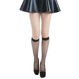 half-hose PAMELA MANN - Fishnet Knee High, PAMELA MANN