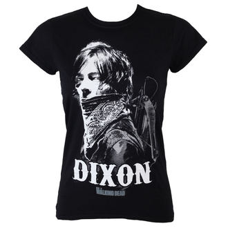 t-shirt women The Walking Dead - Dixon Bandana - Black - INDIEGO - Indie0400
