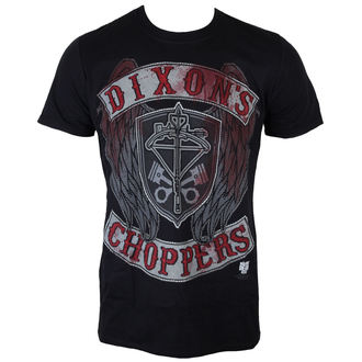 film t-shirt men's The Walking Dead - Dixons Choppers - INDIEGO, INDIEGO