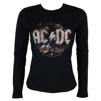t-shirt metal women's AC-DC - Rock or Bust - LOW FREQUENCY - ACGLS05003