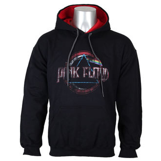 hoodie men's Pink Floyd - Dark side of the moon new logo - LOW FREQUENCY, LOW FREQUENCY, Pink Floyd