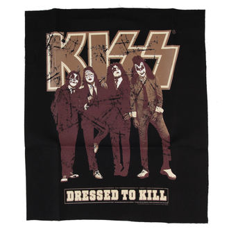 patch KISS - Dressed to Kill - BLK - LOW FREQUENCY - KIPA05002