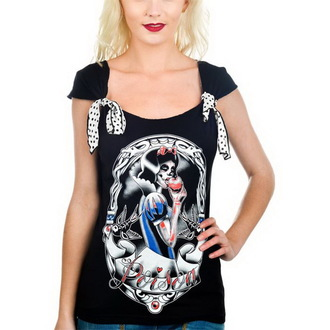 t-shirt gothic and punk women's - Shock - TOO FAST